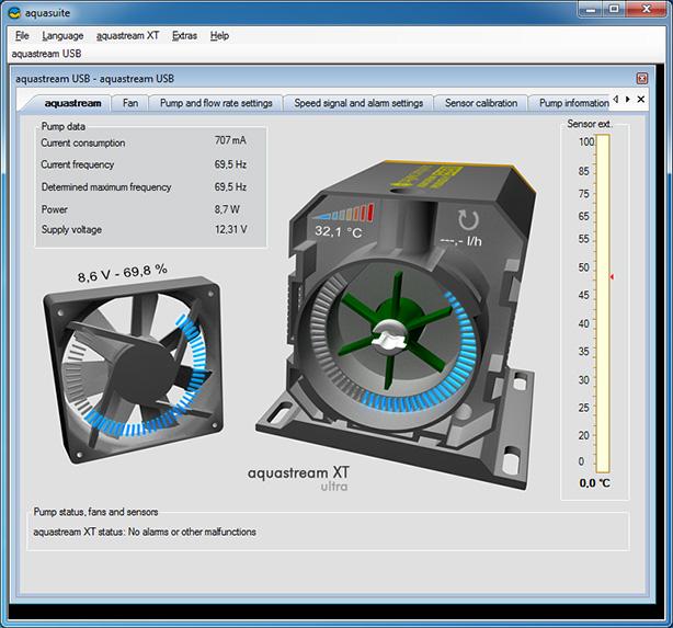 Aquacomputer Aquastream XT Upgrade Kit for Aquastream Ultra